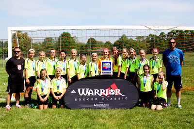 U12 CSA Warrior Soccer 2014